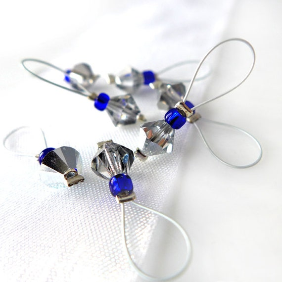 Bigger On The Inside  - Doctor Who Series - Seven Snag Free Stitch Markers in Vial - Fits Up To 5.5 mm (9 US) - Open Edition