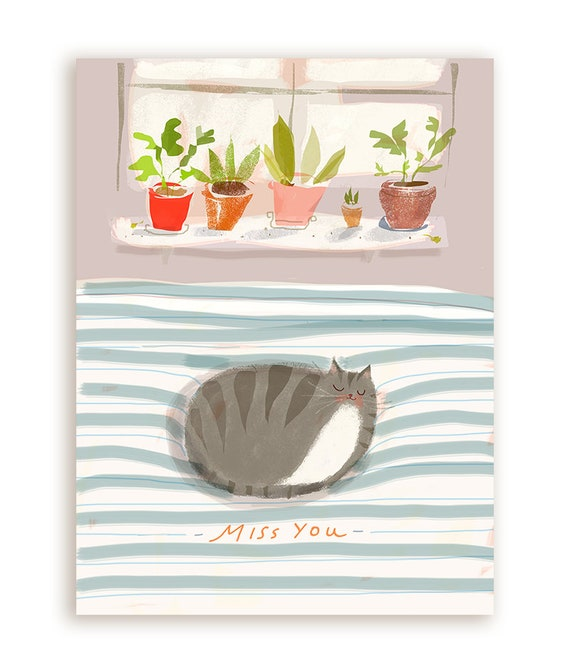Cat Nap Postcard Set of 5