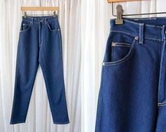 """26"""" X 31"""": LEE Dark Rinse Ladies' Vintage High Waist Tapered Lee Sexy Mom Jean"""