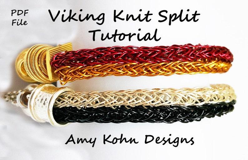 The Viking Knit Split Technique image 1