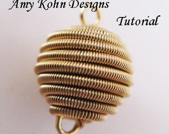 Coiled Spherical Wire Bead - Tutorial