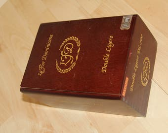 Wood Cigar Box - LaFlor Dominicana 33