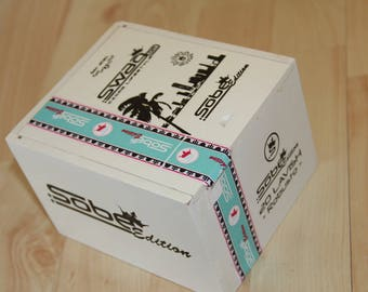 Wood Cigar Box - Swag Dr Sobe White  29