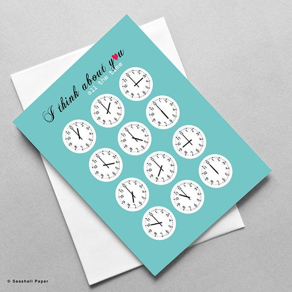 Miss You Love Romance Cute Funny Whimsical Wholesale Etsy