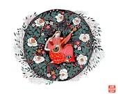 Mandolin Song Art Print