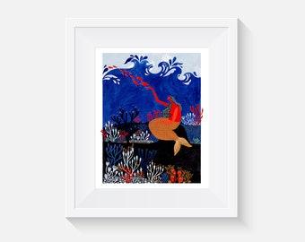 Giclee Print, Tides Art Print