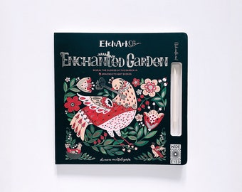 Etchart: Enchanted Garden (signed by Artist)