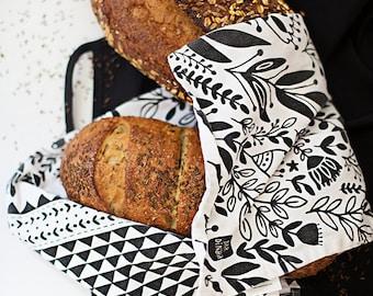 """Toalla de té del jardín 100% algodón, 20 """"x 30"""", viene en un empaque de regalo con una tarjeta de receta gratuitos #towel"""