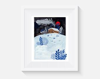 Giclee Print, Spark Art Print