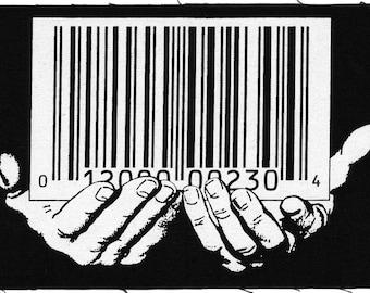Barcode Back Patch by Scott Blake