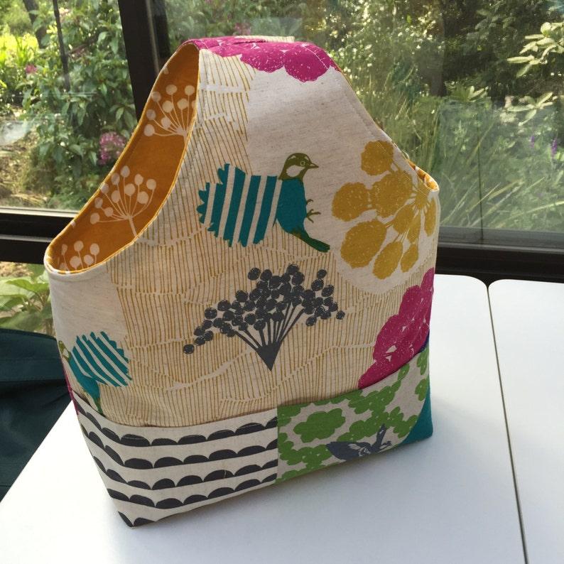 DIY Tote bag Pattern PDF Cotton bag Tote Bag for Teachers image 0