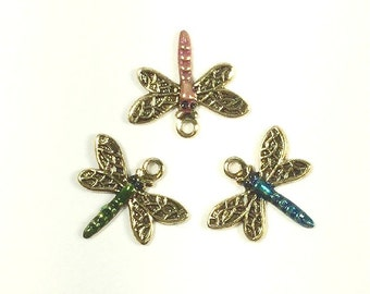 Item #1432 Jewelry Scrapbook for Quilting Needlecraft Hand Painted Queen Bee  Charm Crafters