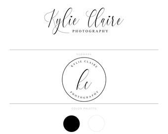 Photographie Logo marque paquet Business Logo filigrane Logo Premade Logo Design personnalisé événement Logo Blog Logo Logos & marque Lash Logo