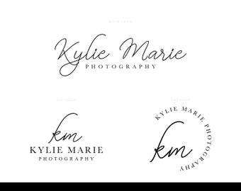 Photography Logo, Script Logo, Feminine Logo, Calligraphy Logo, Realtor Logo Design, Signature Logo, Real Estate Logo, Elegant Logo Design