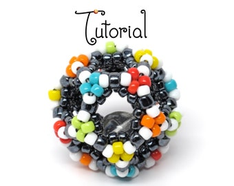 TUTORIAL Collection Infinity Beaded Beads Dodecahedron, Donut and Prisms and MORE