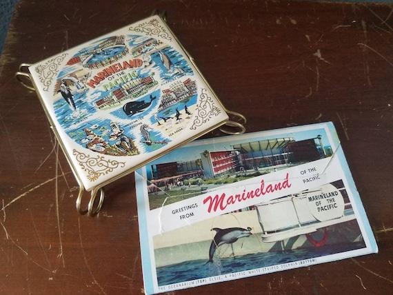 Vintage Calico Mine Ghost Town Fold-Out Postcard Booklet 1964 Souvenir 14 Views Full Color Buena Park Knott/'s Berry Farm California