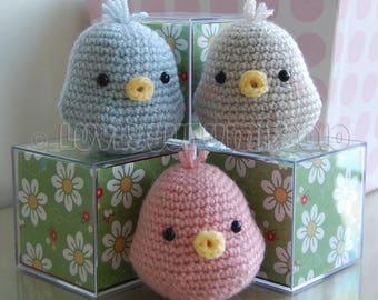 Bird Amigurumi Pattern