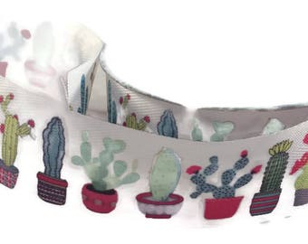 """Cactus Colored Ribbon - 1.5"""" Wide - 3 Yards Succulents Desert"""