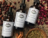 Bliss Elixxxir Mother Hylde's Herbal elixir tincture love aphrodisiac rose hawthorn heart herbs sexual health 2oz