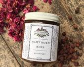 Hawthorn Rose Electuary herbs honey tea heart Beltane Bealtaine 4oz