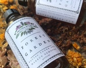 Forest Garden Facial Toner Mother Hylde's Herbal natural skin care herbs skin face wash clear skin calendula sage makeup remover 4oz