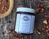 Cocoa Rose Electuary with Damiana and Cinnamon hot chocolate herbal drink love