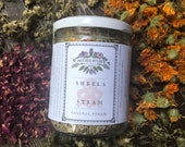 Sheela Steam yoni steam herbs vaginal pelvic health wellness womb menstrual postpartum herbs herbal herbs steam stool women's health