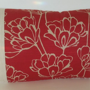 26 x 16 Osborne /& Little Rectangle Throw Pillow Cover Floral Damask Pink Salmon Ivory Decorative Accent Beach French Country Cottage