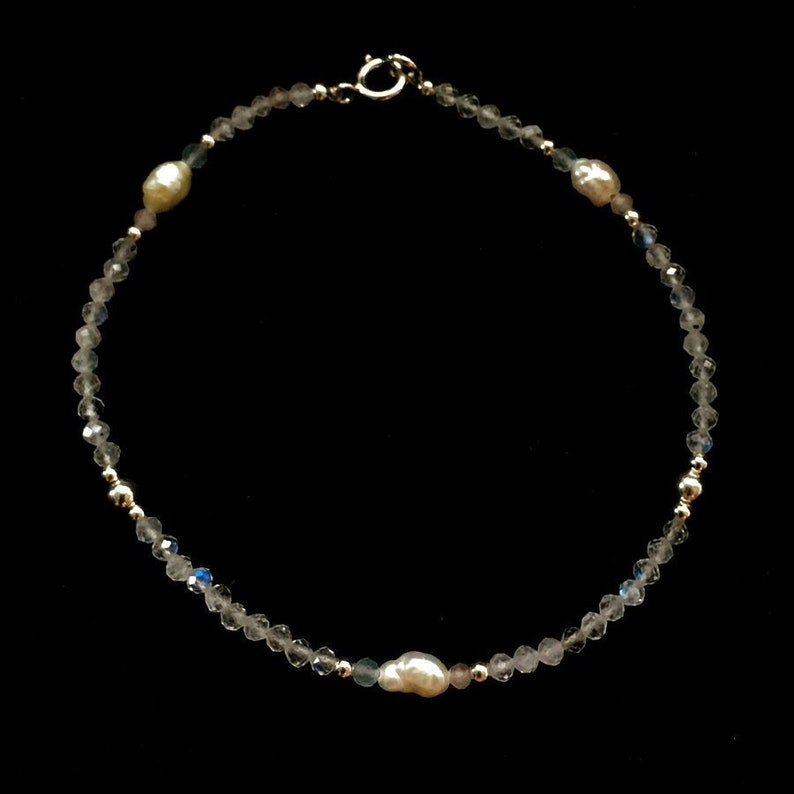 Pregnancy Miscarriage and Infant Loss Fertility Bracelet with image 0