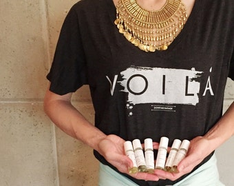 vOILa ! The cutest essential oils women's graphic tee !