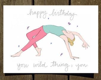 Happy Birthday You Wild Thing
