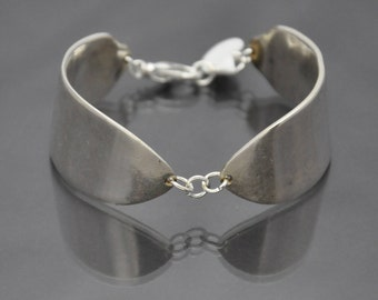 Pate Knife Bracelet made from Antique Silverware