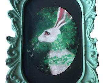 The luck of spring - Original pastel by Celene Petrulak