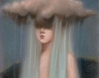 """6"""" x 8"""" print of 'The rain washes over me' 11/18, 12/18, 13/18, 14/18"""