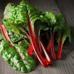 Heirloom Swiss Chard Organic Vegetable Seed Garden Non Gmo Ruby Red Rhubarb