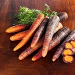 Heirloom Cosmic Purple Carrot Vegetable Seed Garden Organic Non Gmo