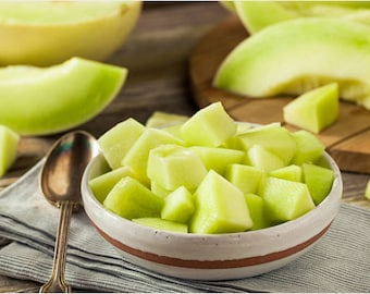 Heirloom Honeydew Melon Seeds Vegetable Garden Fruit Seed Organic Gardening Non Gmo