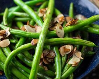 Heirloom Tenderette Green Bean Seed Organic Slenderette Vegetable Garden Non Gmo Bush Bean