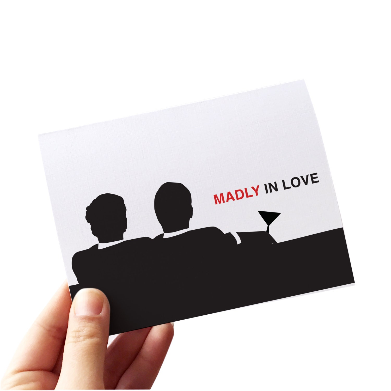 Schwule Hochzeitskarte / / schwul mad Men-Karte / / schwul | Etsy