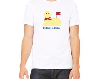 buffalo ny gift // buffalo gift // butter lamb t-shirt // it's butter in buffalo // buffalo clothes // buffalo adult shirt