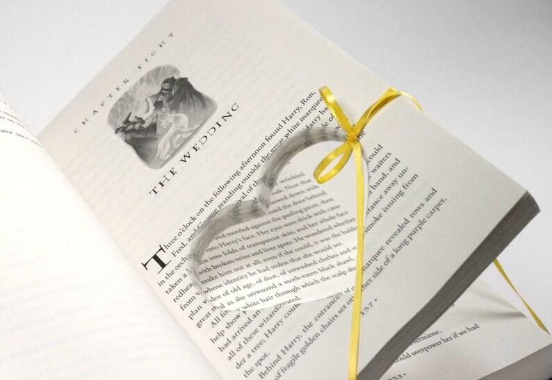 Harry Potter Wedding Engagement Ring Holder Hollow Book image 0