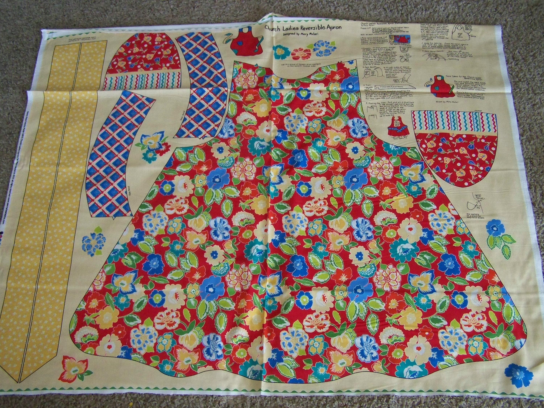 Mary Mulari/'s Church Ladies Apron Pattern