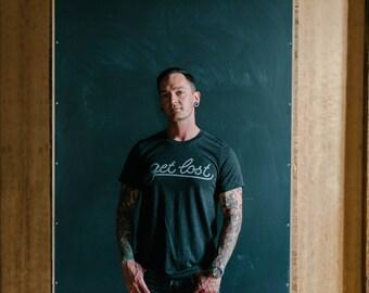 Unisex Tri-blend Get Lost T-shirt