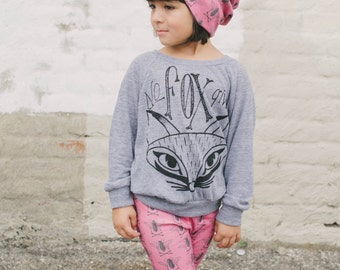 Children's Pink Organic Cotton Bee Beanie