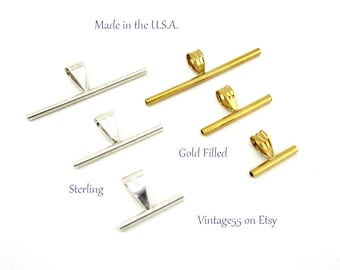 Brooch Converters 6 sizes Artisan Jewelry Pack