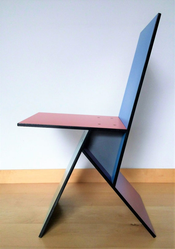 Verner panton vilbert stuhl f r ikea original 90er jahre etsy - Panton stuhl original ...