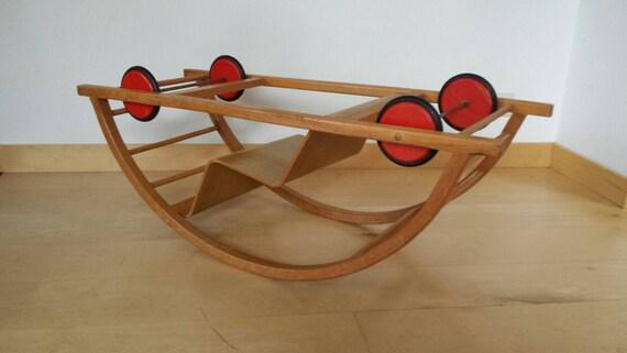 Sedia A Dondolo Per Bambini Mista : Hans brockhage swing auto sedia a dondolo e auto da corsa etsy