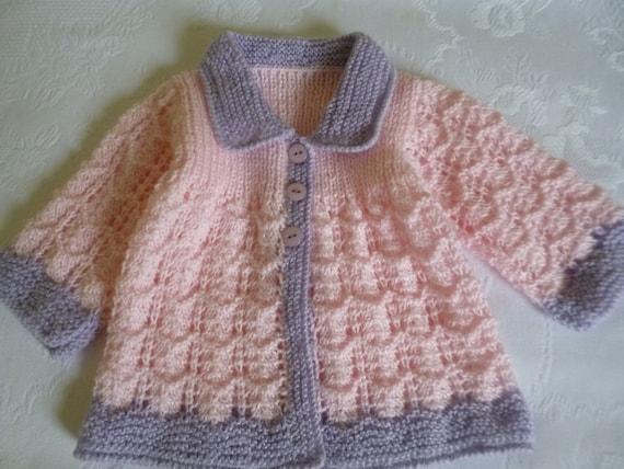 Sueter Para Beba Sweater Recien Nacida Tejido De Punto Etsy