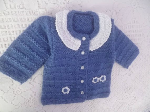 f0a260de6 best c6db5 91180 hand knitted sweater baby girl 3 to 6 months ...