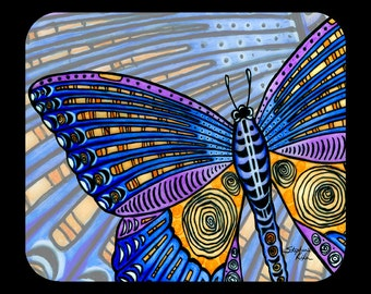 Butterfly Wings Mousepad for computers